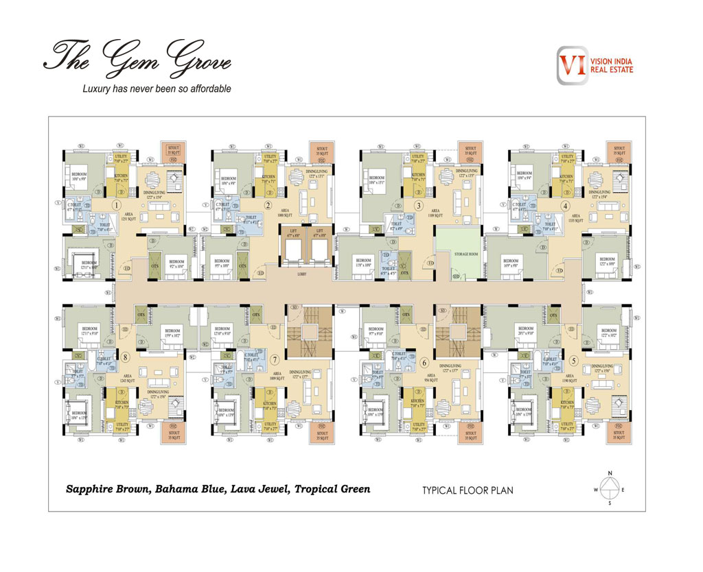 Gem Grove Floor Plan