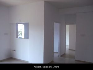 KITCHEN, BEDROOM, DINING